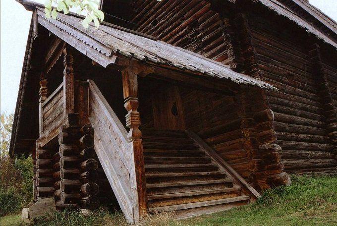 Дом в стиле русской избы